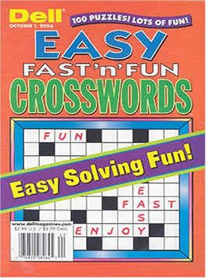 Easy Fast 'N' Fun Crosswords
